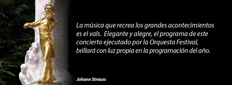 Evento Johan Strauss JULIO2016